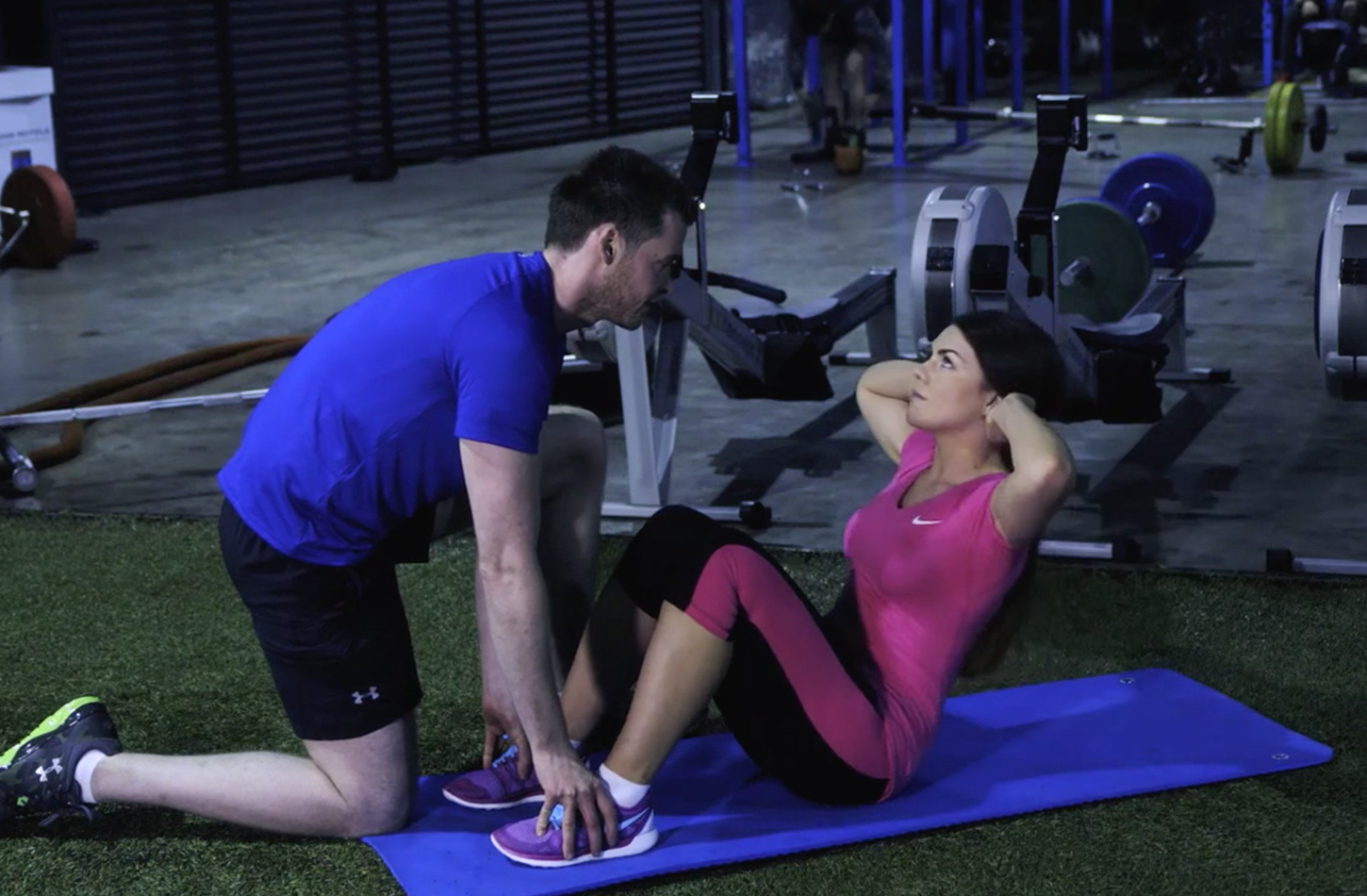 FITNESS 101: HOW TO DO A THREE MINUTE AB BLAST