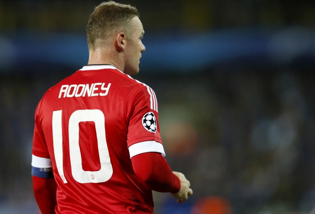 Wayne Rooney bagged a hat-trick against Club Brugges. Action Images via Reuters / Carl Recine