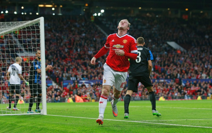 Wayne Rooney has failed to score for Manchester United since April
