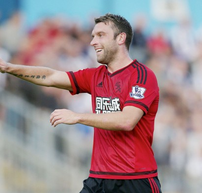 Football - Bristol Rovers v West Bromwich Albion - Pre Season Friendly - The Memorial Stadium - 31/7/15West Brom's Rickie Lambert: Action Images / Alex MortonLivepic