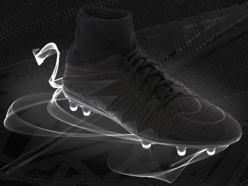 le dernier 63fc6 99232 Exclusive: all black Nike Hypervenom II | Life Style Sports Blog