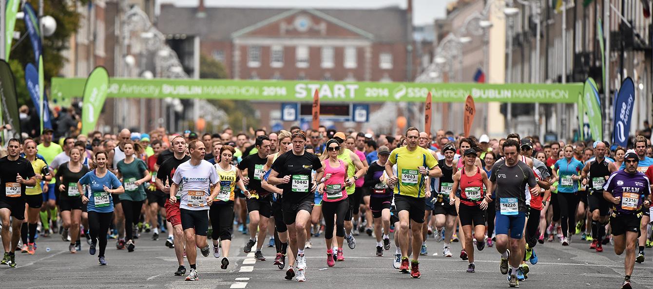 Dublin Marathon Expo