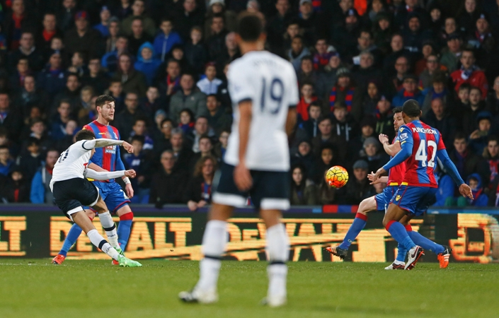 Dele Alli scored a fine goal in Tottenham's 3-1 win at Crystal Palace