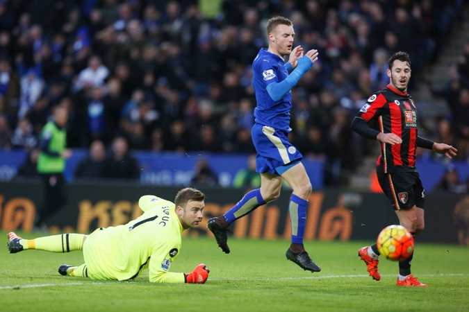 Jamie Vardy has gone six Premier League games without a goal