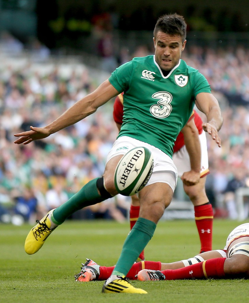 Ireland 2015 Rugby World Cup Squad 1/9/2015 2015 Rugby World Cup Warm-Up Match, Aviva Stadium, Ireland 29/8/2015 Ireland vs Wales Ireland's Conor Murray Mandatory Credit ©INPHO/James Crombie