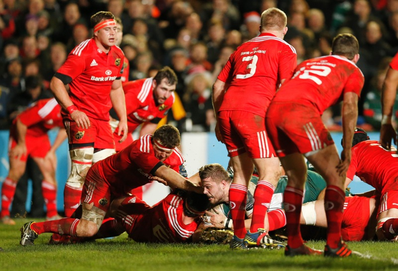 Munster have their Ireland contingent back. Action Images / Andrew Boyers