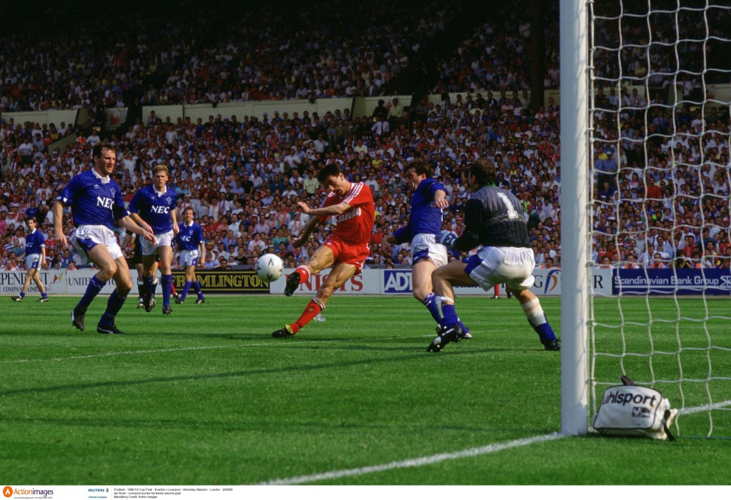 Ian Rush scored goals against Everton in two FA Cup finals. Mandatory Credit: Action Images