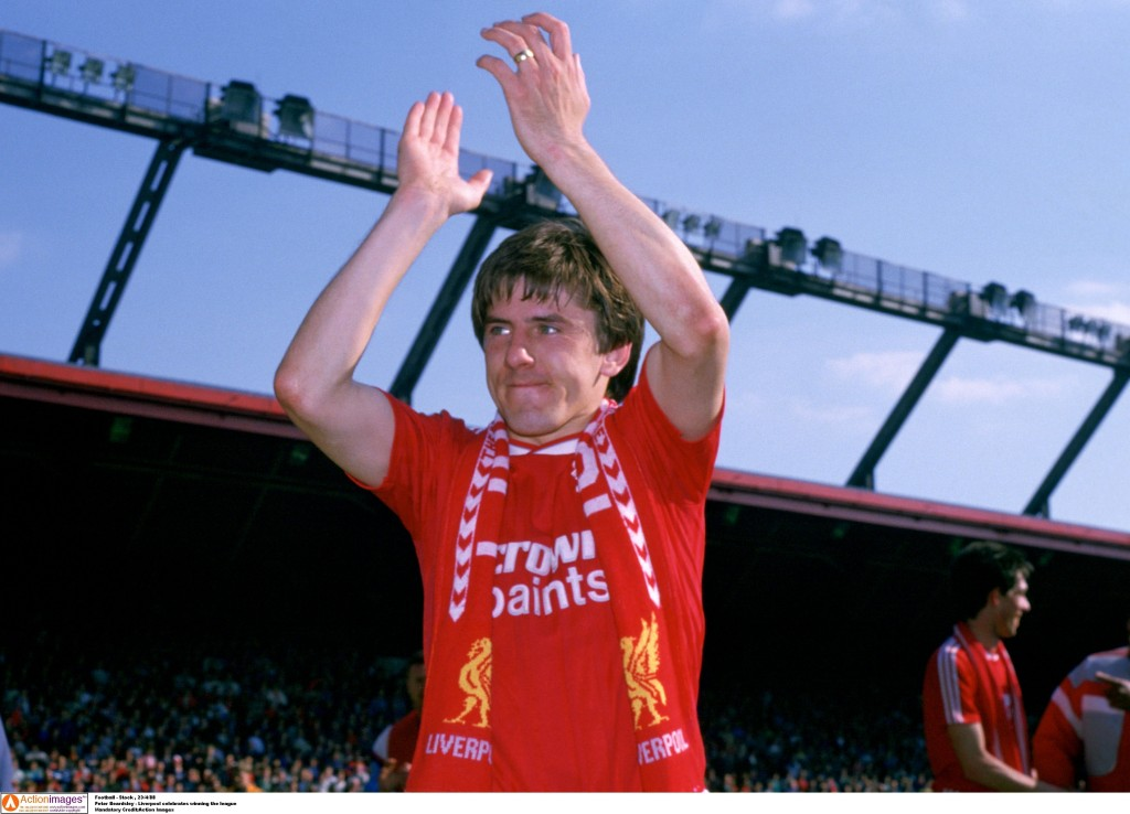 Peter Beardsley played for both Liverpool and Everton. Action Images