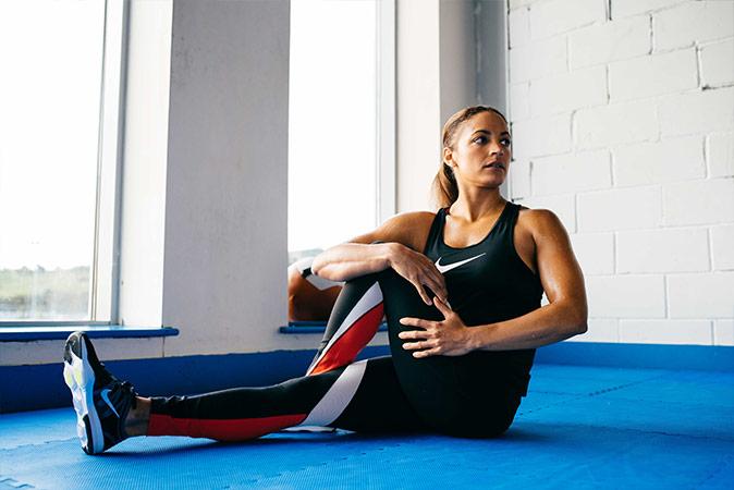 Joselyn Thompson Rule - Nike - warm up