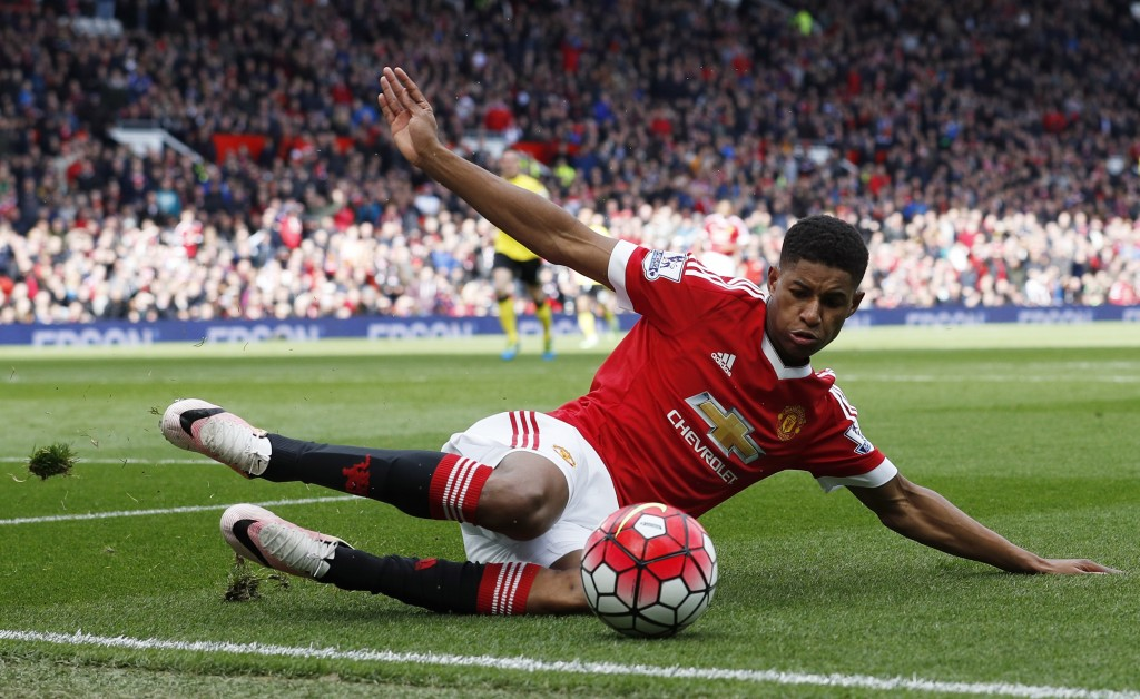 Marcus Rashford has scored seven goals in 12 games. Reuters / Phil Noble