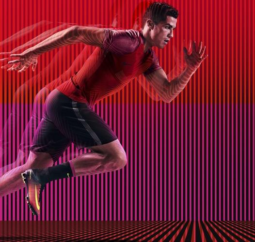"Like Cristiano Ronaldo new Nike Mercurial boots are ""straightforward and aggressive"""