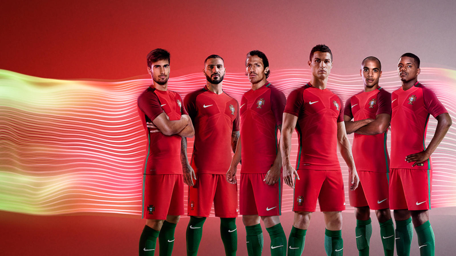 huge selection of eb6d6 ccb84 The all new Portugal Jersey: Ronaldo's finest moments for ...