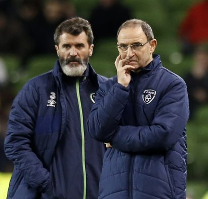 Martin O'Neill and Roy Keane. Action Images via Reuters / Paul Childs Livepic