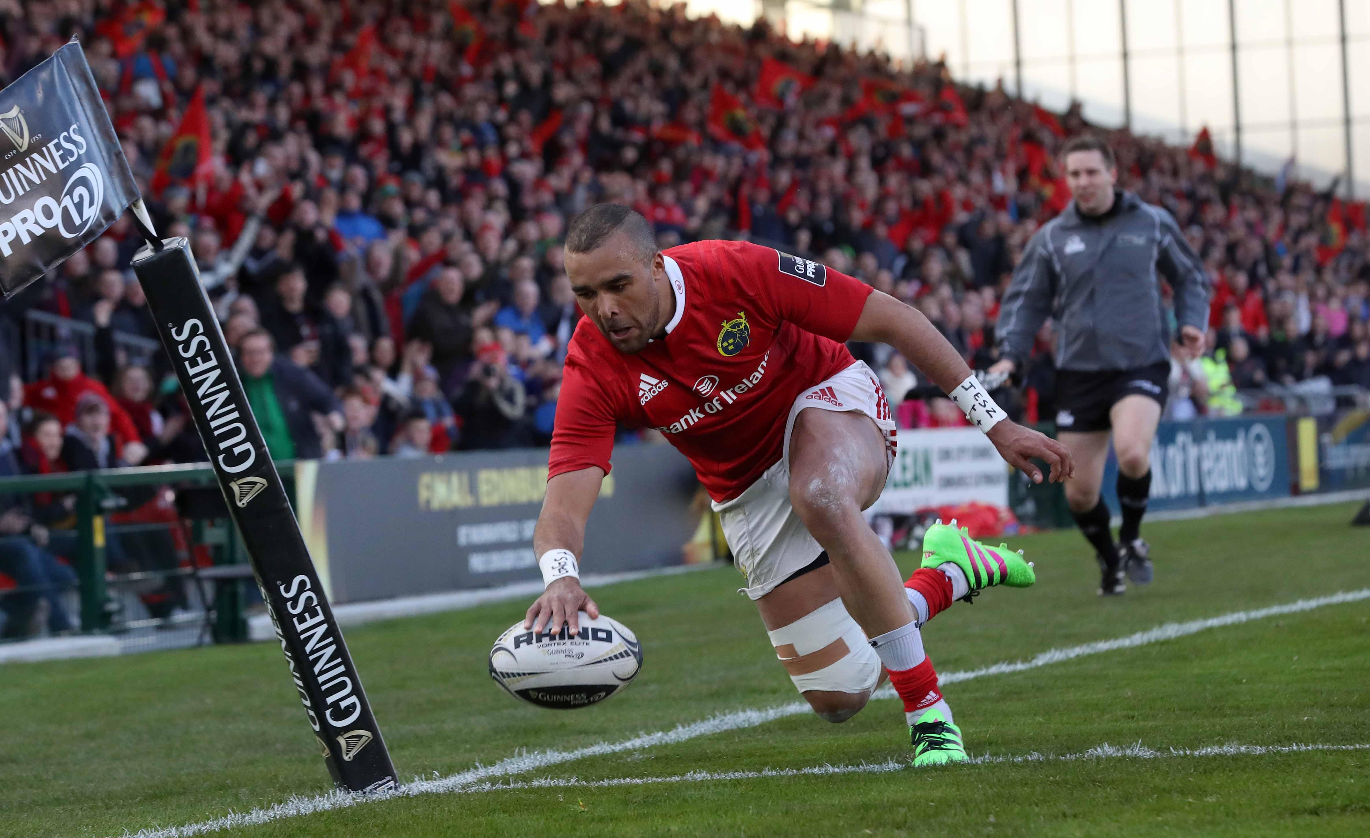 Munster magician Simon Zebo excited by European adventure