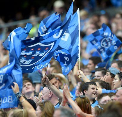 Leinster GAA Senior Football Championship Final, Croke Park, Dublin 17/7/2016 Dublin vs Westmeath Dublin fans Mandatory Credit ©INPHO/Tommy Grealy