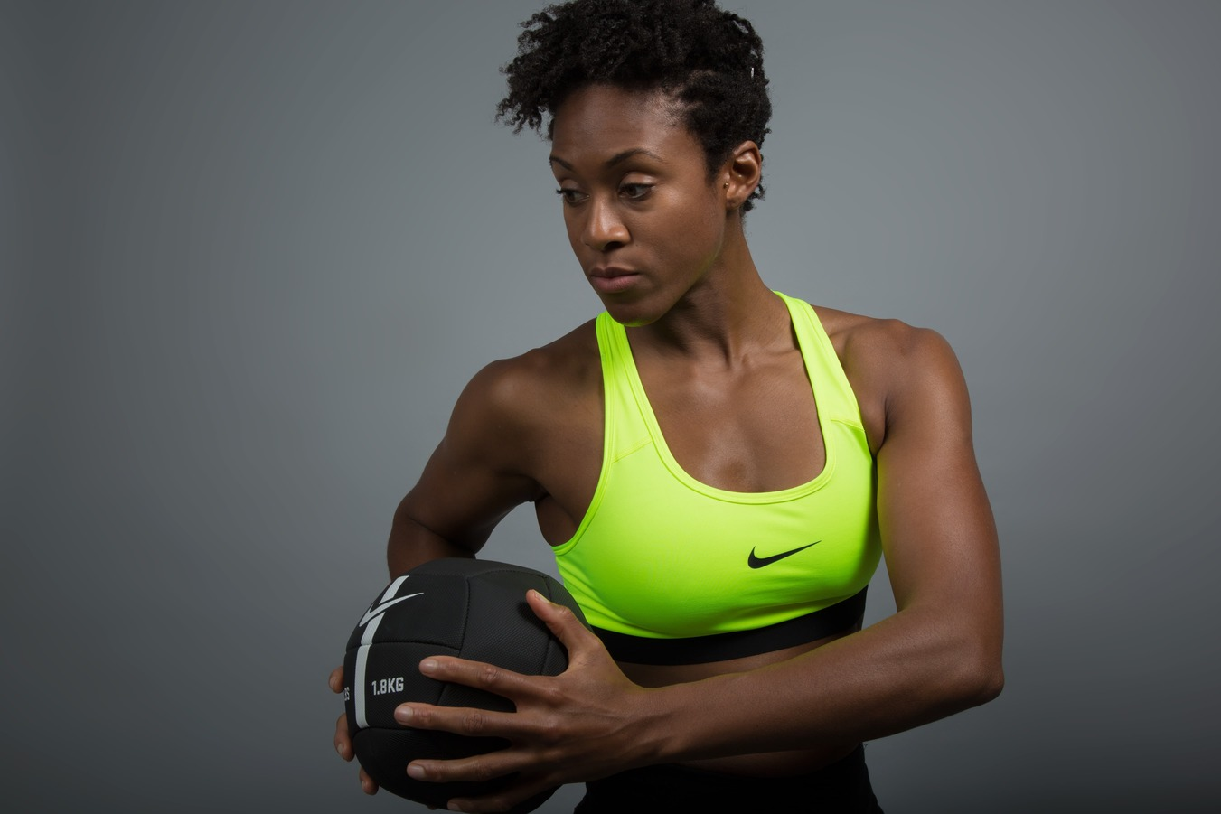 Why Tameka Small wears the Nike Pro Classic Bra