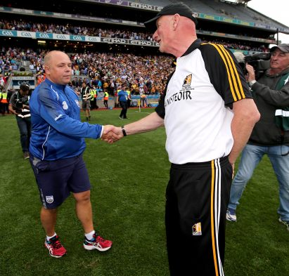 Brian Cody and Derek McGrath (Inpho)