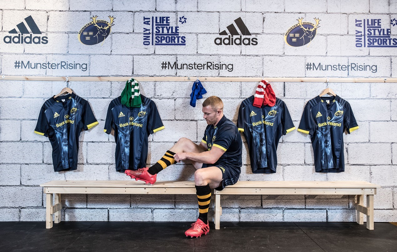 Keith Earls launches #MunsterRising socks initiative