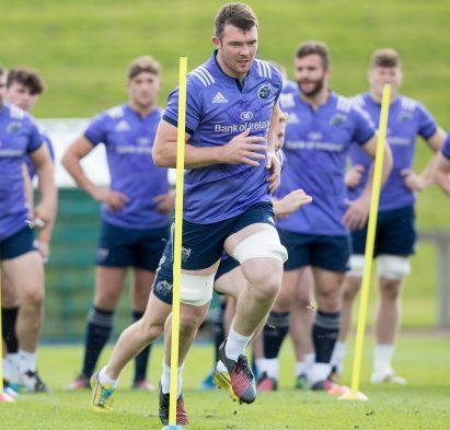 Munster Rugby Squad Training, UL, Limerick 20/9/2016 Peter O'Mahony Mandatory Credit ©INPHO/Morgan Treacy