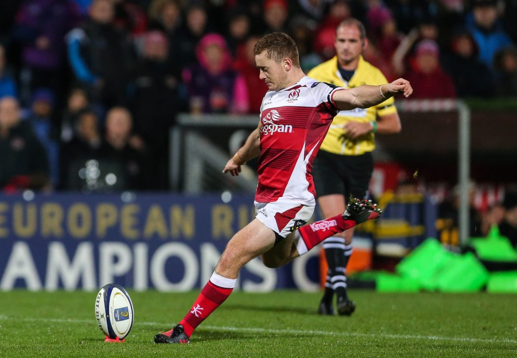 European Rugby Champions Cup Round 2, Kingspan Stadium, Belfast 22/10/2016 Ulster vs Exeter Chiefs Ulster's Paddy Jackson Mandatory Credit ©INPHO/Presseye
