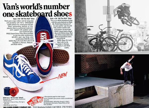 History of Vans Old Skool Skateboarding Shoe