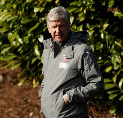 Britain Football Soccer - Arsenal Training - Arsenal Training Ground - 6/3/17 Arsenal manager Arsene Wenger during training Action Images via Reuters / John Sibley Livepic EDITORIAL USE ONLY.
