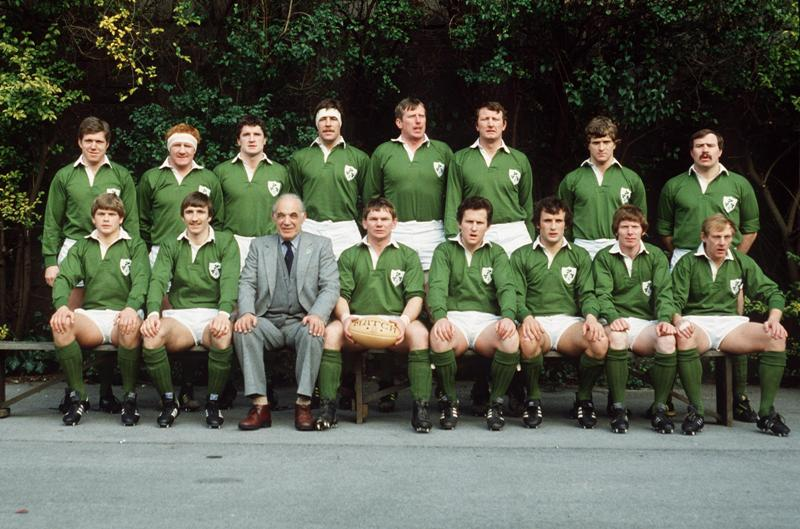 Ireland Rugby Team 1983 ©INPHO/Billy Stickland