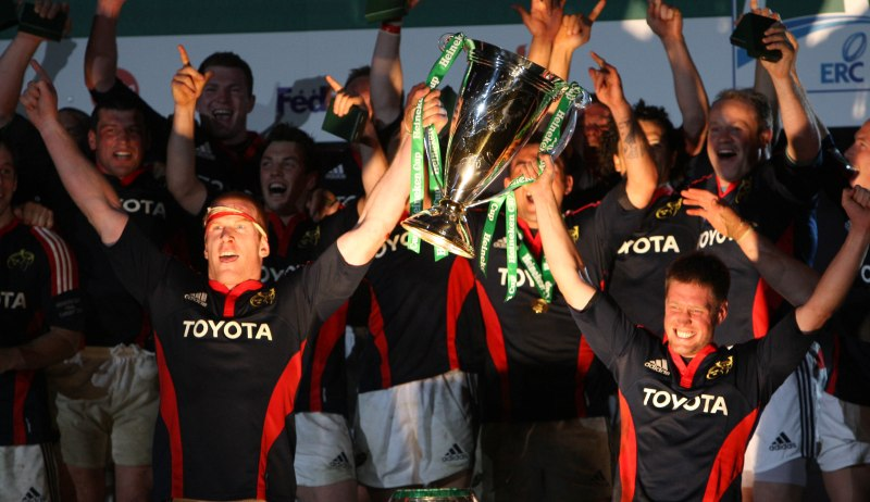 Munster v Toulouse – relive the glory of the 2008 final