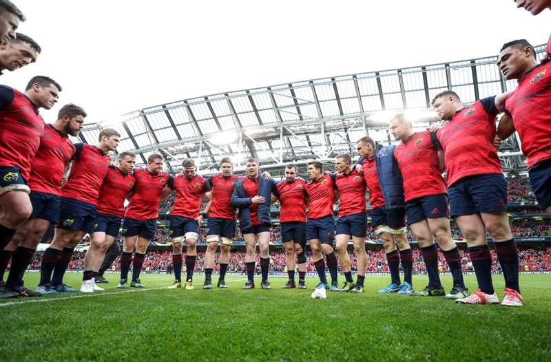 Munster's home semi-final permutations with two PRO12 matches to play