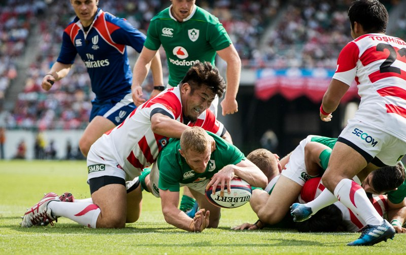 How can Ireland improve in the second Test against Japan?