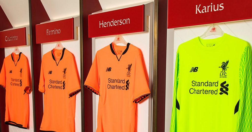 low priced 53d09 d4cfa Liverpool Kit   Heritage meets modern with the new Liverpool ...
