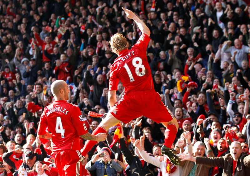 Five of the best: Liverpool v Manchester United at Anfield