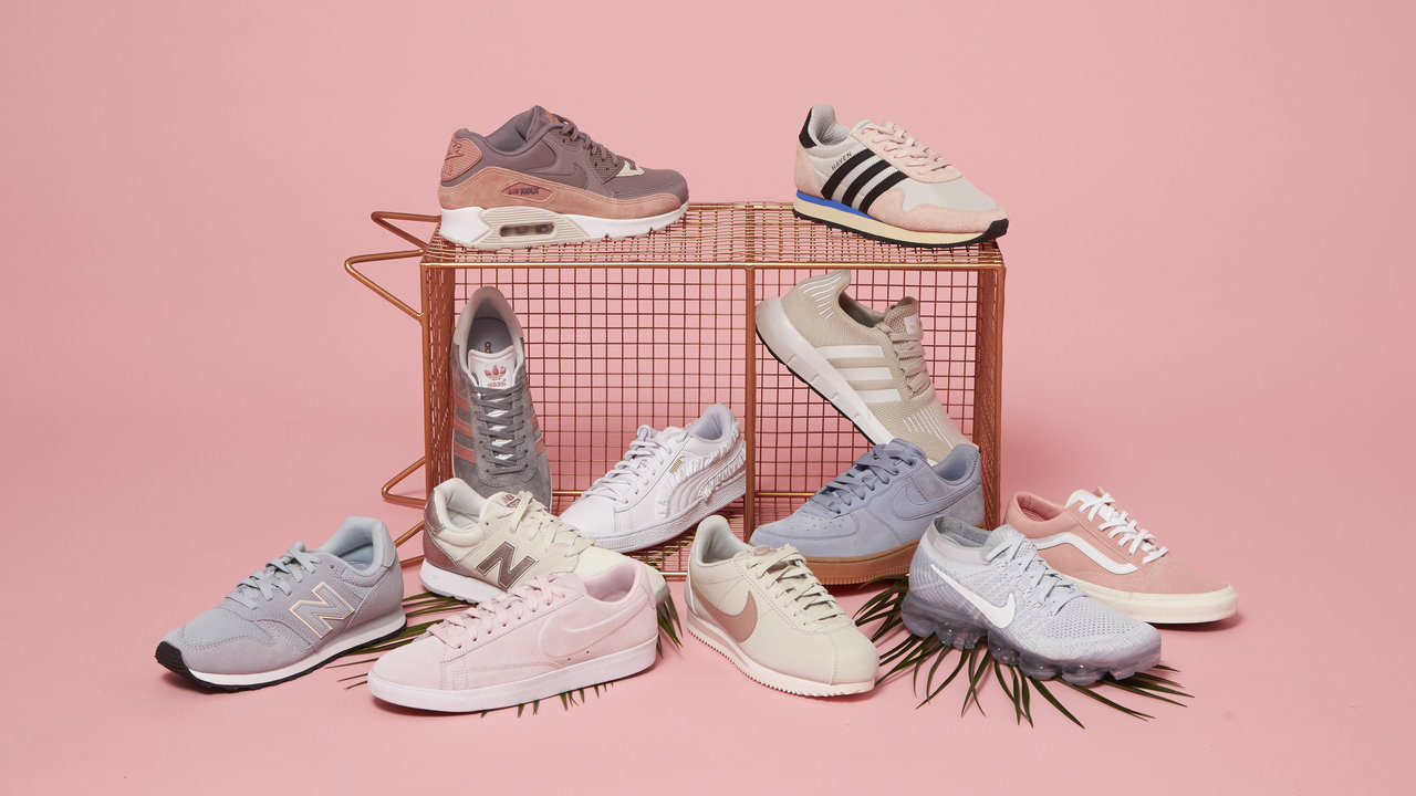TRENDING: Women's Pastel Trainers for ANY Season