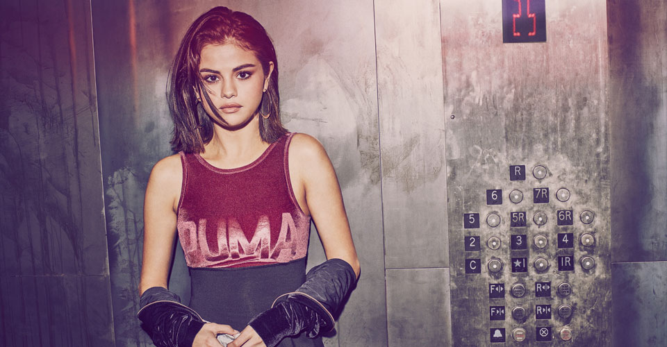 Celeb Spotting: Selena Gomez x Puma