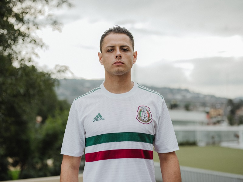 49c13ea0d Mexico (Away). Another absolutely classic look to complement the retro home  shirt ...