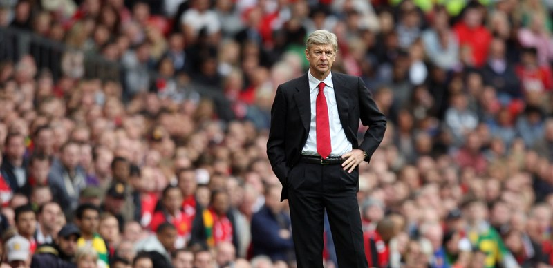 Arsene Wenger's iconic Old Trafford trips