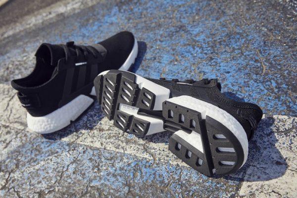 black adidas POD