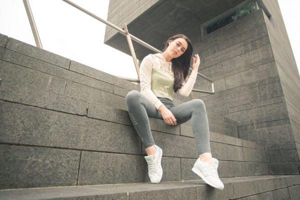 women's ellesse cropped hoodie