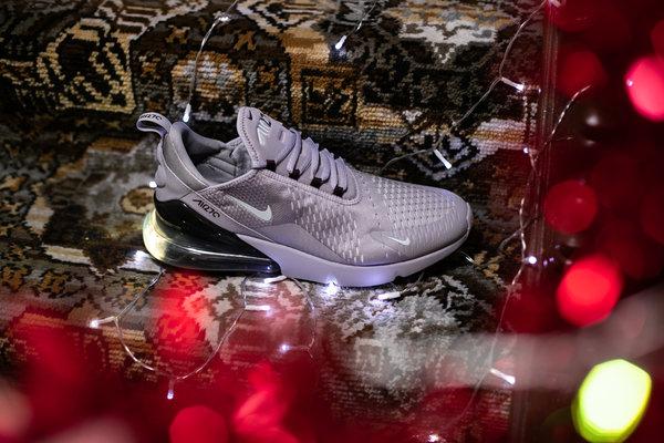 Grey Nike Air Max 270