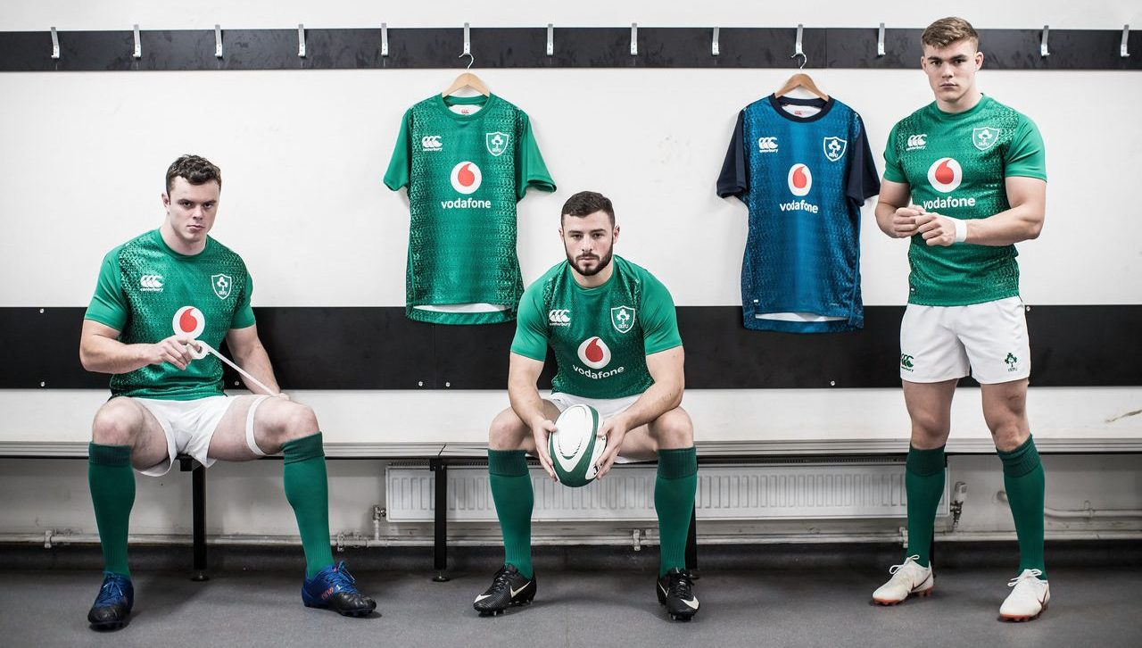 NEW Ireland Rugby Jerseys
