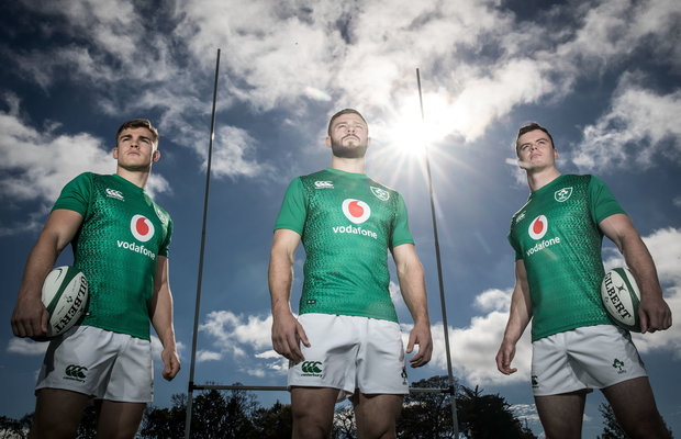 2019 Irish Rugby Home Jersey