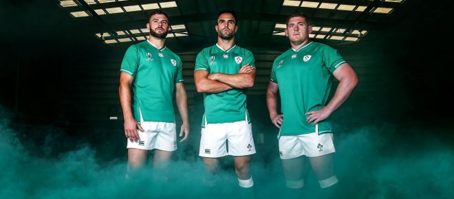 Ireland Rugby Home Jersey
