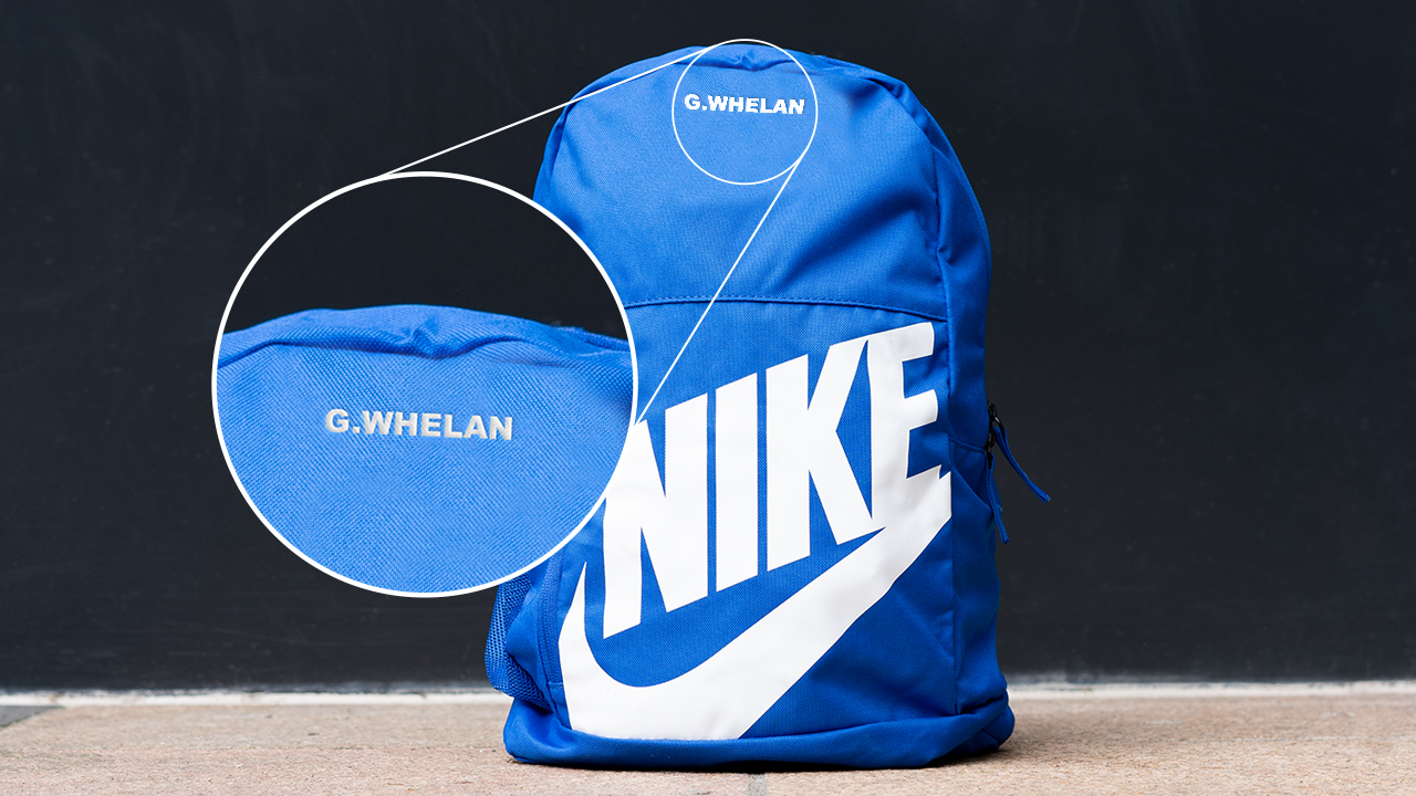 Personalise Your School Bag