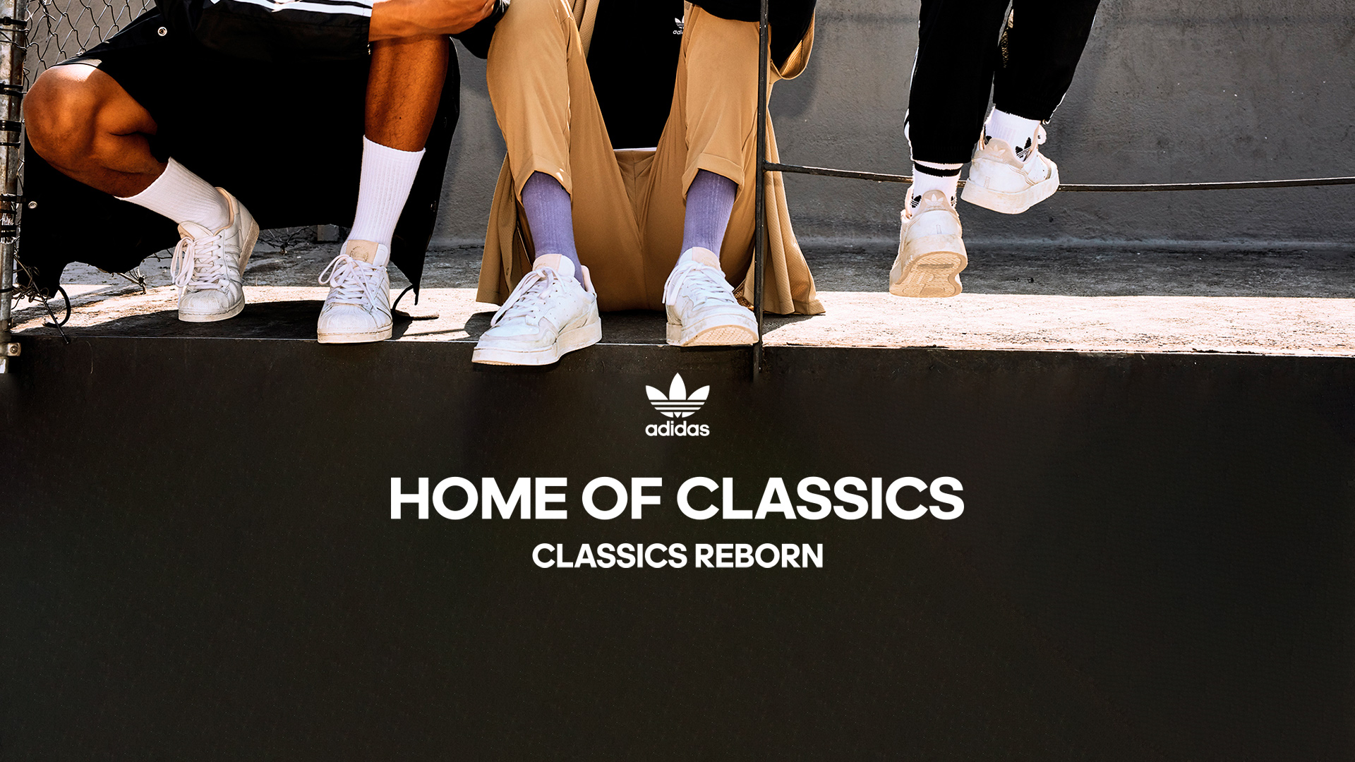 HOME OF CLASSICS: Iconic adidas Silhouettes