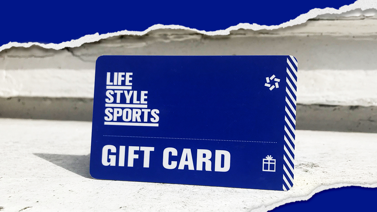 Use your Life Style Sports Store Gift Card Online